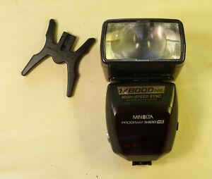 ancien flash Minolta program 5400HS 1/8000 pour appareil photo