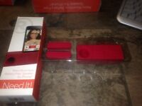 Radioshack Retro Boombox Battery Free Speaker For Iphone Red 4, 4s, 5, 5s