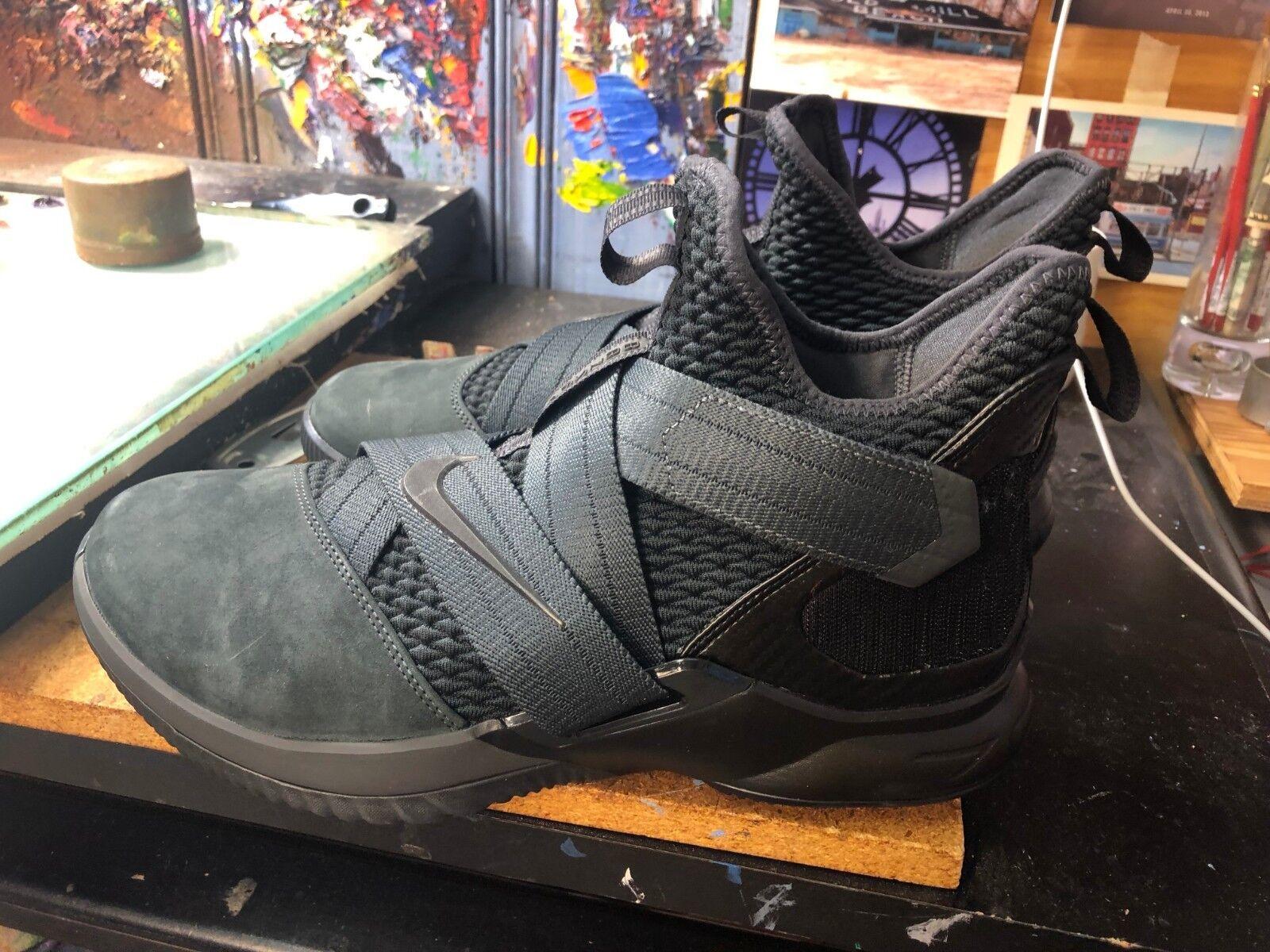 cheap for discount 20658 b7055 Nike Nike Nike LeBron Soldier XII SFG Anthracite Black Zero Dark Size US 11  Men AO4054