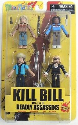 Diamond Select Toys Kill Bill Deadly Vipers Minimates Box Set Action Figure