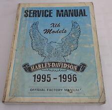 Werkstatthandbuch / Workshop Manual Harley Davidson XLH Sportster Mod. 1995-1996