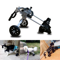 Wheels Cart For Handicapped Pet Dog Supplies Rear Legs Support Solid Wheelchairs