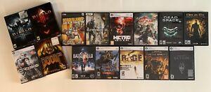 14-PC-Games-Lot-Windows-Games-Diablo-3-Crysis-1-amp-2-Doom-3-Rage-Dead-Space-2