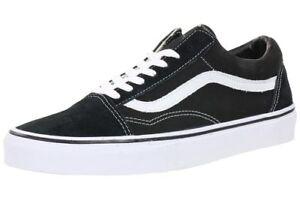 Details zu Van s Old Skool Sneaker Schuhe Herren Damen Schwarz/Blau/Rot  35-45