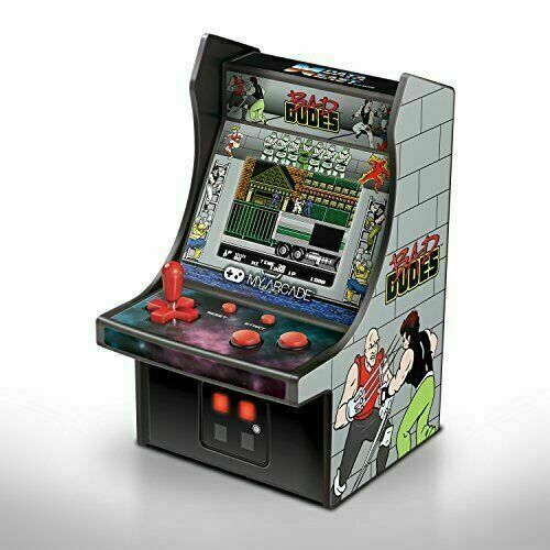 Portable Mini Retro My Arcade Machine Bad Dudes Electronic Hand Held Game New