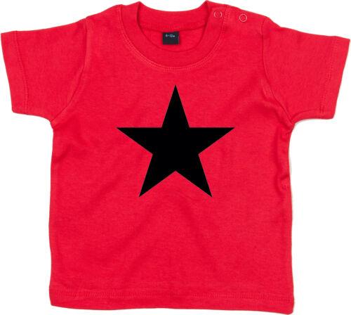 BLACK STAR BABY Red Shirt Baby-T-Shirt