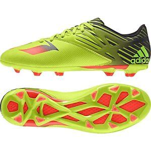 e603ccfd47e Adidas Messi 15.3 FG AG Firm Ground Artificial Grass Soccer Cleats ...