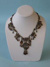 8hx7w White Leather Jewelry Display Bust Stand Necklace Chain Ja10w1