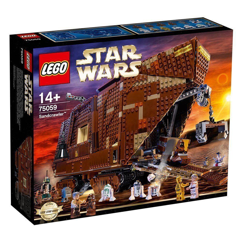 LEGO Star Wars 75059 – Sand Crawler - Brand new - FREE P&P