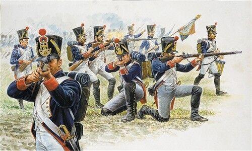 Italeri 6002-1//72 Französische Infantrie Napoleonische Kriege Neu