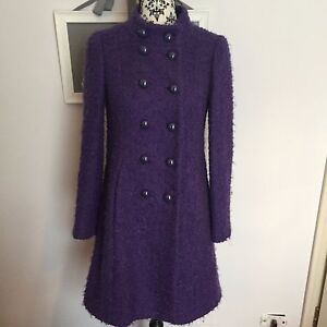 Caricamento dell immagine in corso Cappotto-Moschino-Cheap-and-Chic -in-lana-boucle- efd53e5be16