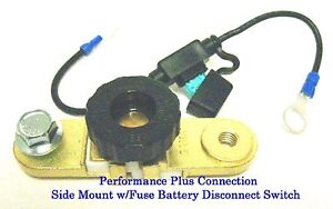 Side Mount Battery Disconnect Safety Switch w//Fuse  No Loss of Pre-Set Functions
