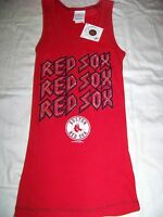 5th & Ocean Women's Boston Red Sox Tank Top Bling
