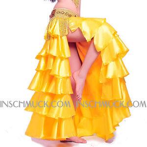 C239-Sei-Storia-Costume-Danza-Ventre-Gonna-con-Slot-Tribale-Fusion-danza-ventre