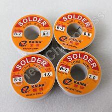 100g 2mm 63/37 Tin Lead Wire Reel Rosin Core Flux Soldering Welding Iron USEF .E