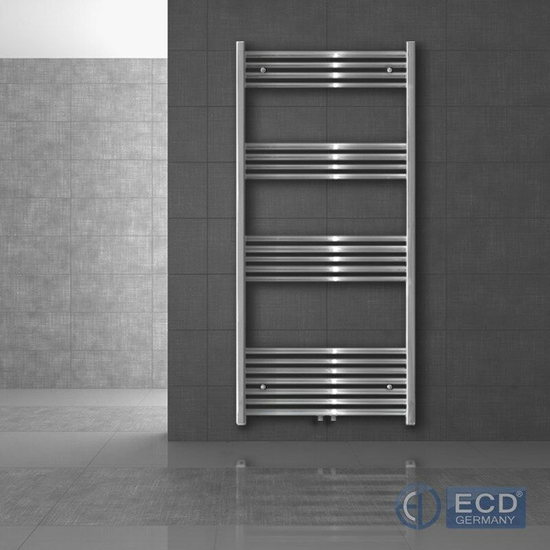 Chrome porte-serviettes radiateur chauffage avec kit de montage mural