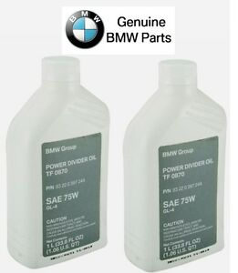 For Bmw Genuine Transfer Case Fluid Gear Oil Shell Tf 0870
