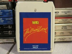 WAR-The-Music-Band-8-Track-Tape