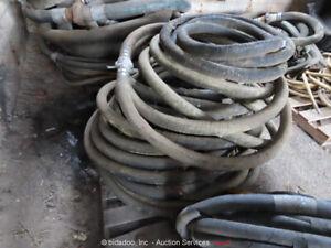 Pump Tank Suction Discharge Lot of (5) Individual Cam Lock Rubber Hoses bidadoo