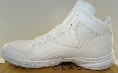 REEBOK Men/'s Pro Heritage 2 Basketball Hi-Top White NWD