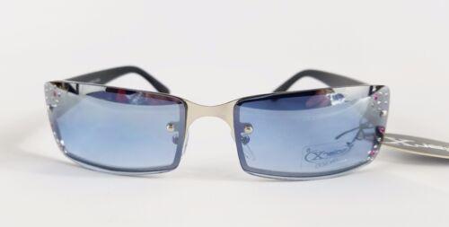 Solar X Eyewear RL09R UV400 Metal Frame Rhinestone Sunglasses NEW W// Bag