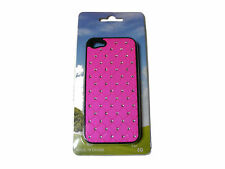 SHOCKING PINK DIAMANTE FAKE DIAMOND IPHONE 5 MOBILE PHONE CASE IPHONE5  - NEW