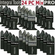 Integra 24pc Oscillating Multitool Saw Blade Fits Fein Multimaster Makita Bosch