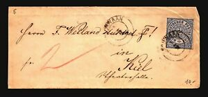 Germany-1860s-N-Confed-Cover-2g-Back-Tears-Z17141