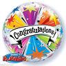 Congratulazioni Laureato,Well Done,Buona Fortuna Latex & Lamina Qualatex