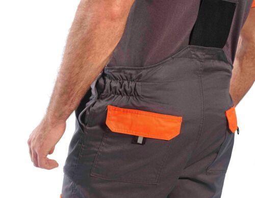 Portwest texo contrasto pittori lavoro indossare una tuta con bretelle Complessivo Tuta intera da TX12