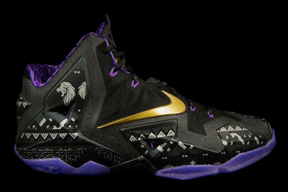 Nike LeBron 11 XI BHM Size 11. 646702-001 kyrie what the cavs mvp