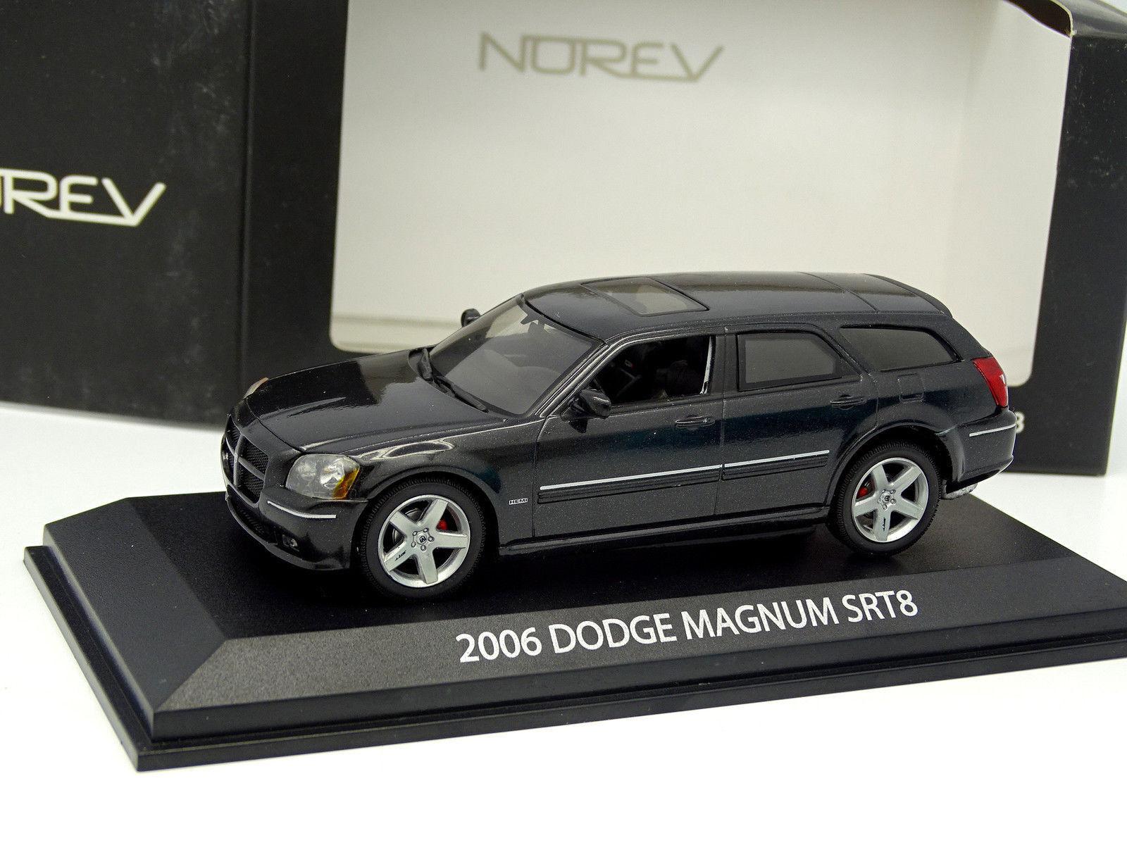 Norev 1 43 - Dodge Magnum SRT8 Schwarz