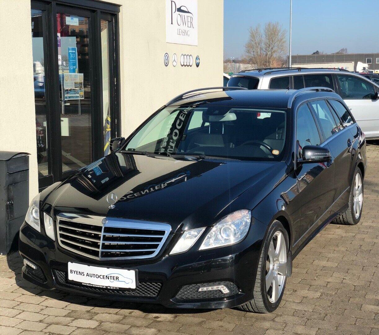 Mercedes E350 3,0 CDi Avantgarde stc. aut. BE 5d