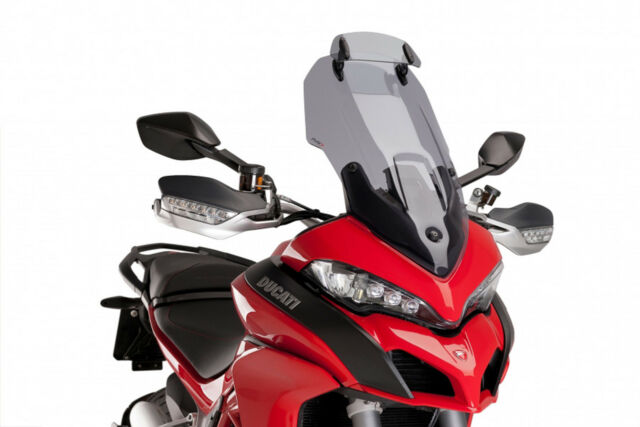 PUIG TOURING SCREEN-VISOR DUCATI MULTISTRADA 950 17-21 LIGHT SMOKE