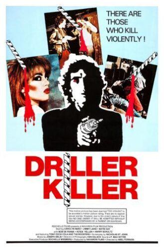 Driller Killer Movie Poster 24in x36in