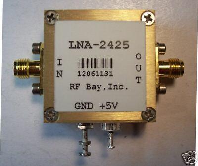 2400-2500MHz High IP3 LNA NF=0.85dB LNA-2425,New SMA