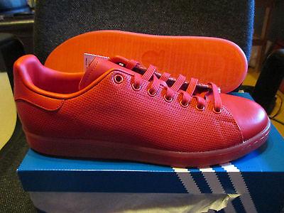 100% QualitäT Adidas Schuhe Leder Stan Smith Adicolor 45 1/3 Neu Mit Karton Sneakers Original Mit Traditionellen Methoden