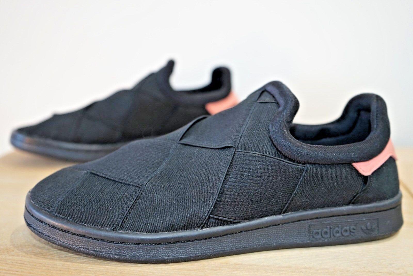 Adidas Cour remixé Originals Femme Baskets Chaussures Taille UK 5 noir (Nav)