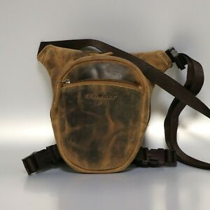 Greenburry-Bauchtasche-Leder-Biker-Beintasche-braun-used-look-1585-25