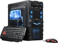 ABS ALI130 Logic-Frigate Gaming Desktop with Intel Core i3-7100 / 8GB / 1TB / Win 10 / 2GB Video