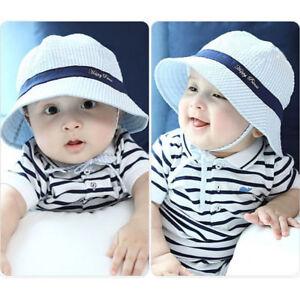 26021fceeae EG  TODDLER INFANT SUN CAP SUMMER BABY GIRLS BOYS BEACH BUCKET HAT ...