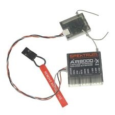 NEW AR8000 2.4GHz DSMX 8 Channel Receiver  for JR,Spektrum Dx7,Dx8,Dx9.Dx18....