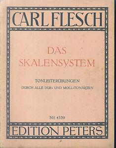 CARL-FLESCH-Das-Skalensystem-Tonleiteruebungen-durch-alle-Tonarten