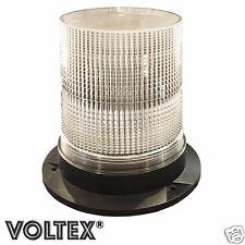 """VOLTEX® 7"""" STROBE BEACON 16 WATT AMBER LED PILOT ESCORT CAR TOW TRUCK LIGHTBAR"""