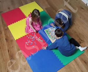 Soft Foam Interlocking Child Kids Crawl Play Mat Gym Floor
