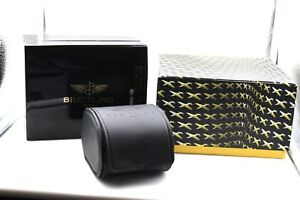 The Cheapest Price Genuine Breitling Black Travel Case Jewelry & Watches Service Box Storage