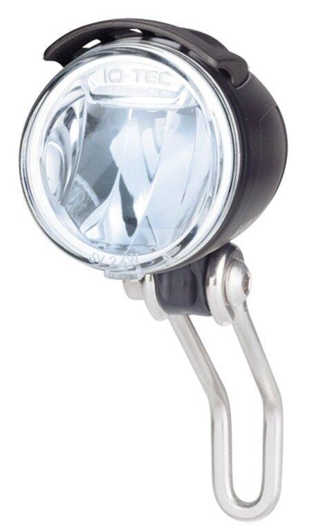 E-Bike 6-42V DC LED Scheinwerfer Lumotec IQ Cyo 80 Lux mit Schalter B&M NEU