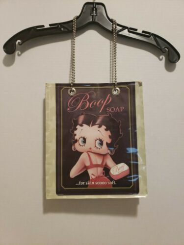 Betty boop vintage newspaper hand bag