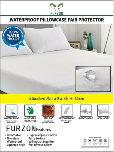 """ALL SIZES. EXTRA DEEP QUILTED MATTRESS PROTECTOR 13/"""" FITTED BED COVER"""