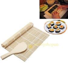 Bamboo SUSHI Mat Makisu Roll Asia Chinese Japanese Kitchen Hand Rolling